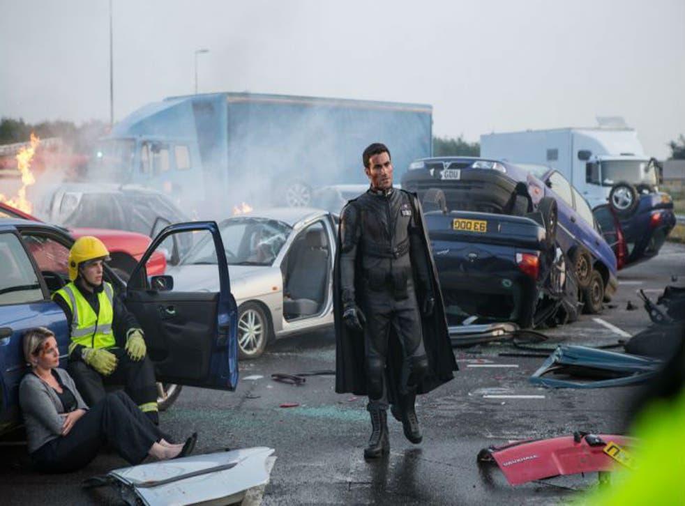 Brett Goldstein stars in the new superhero rom-com, 'Superbob'