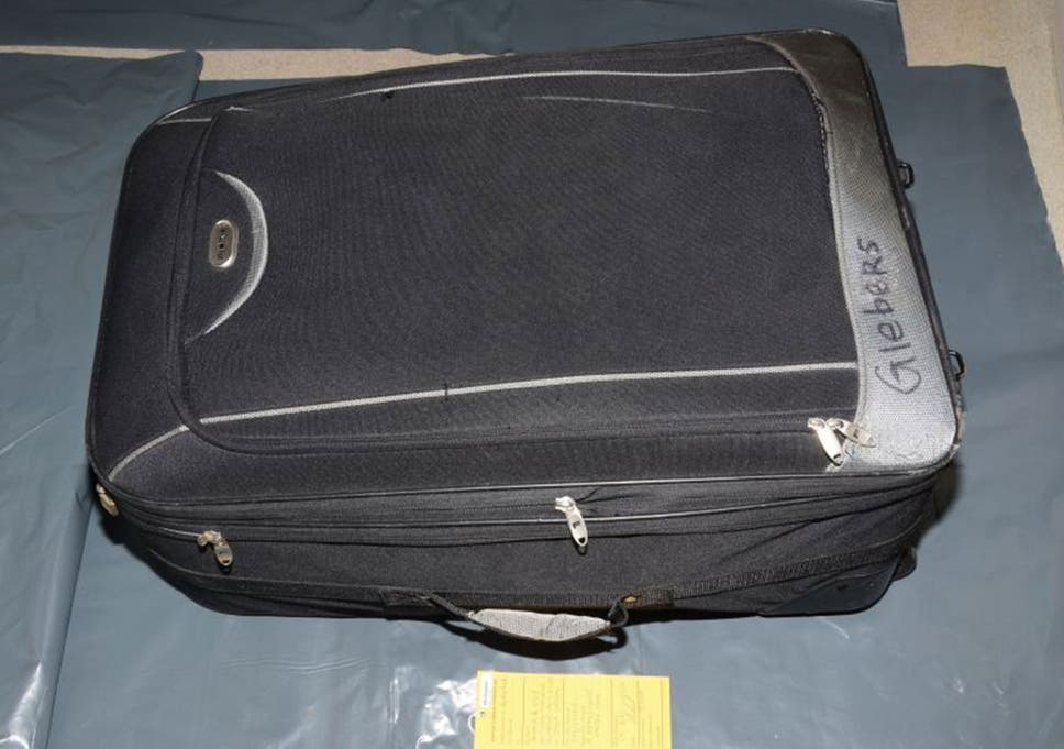 3b42f0be5 One of the suitcases used in the murder of Becky Watts, shown to the jury