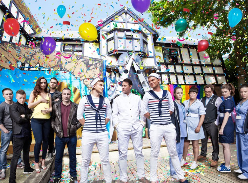 The soap will celebrate its 20th anniversary with a Gay Pride event - and a triple murder