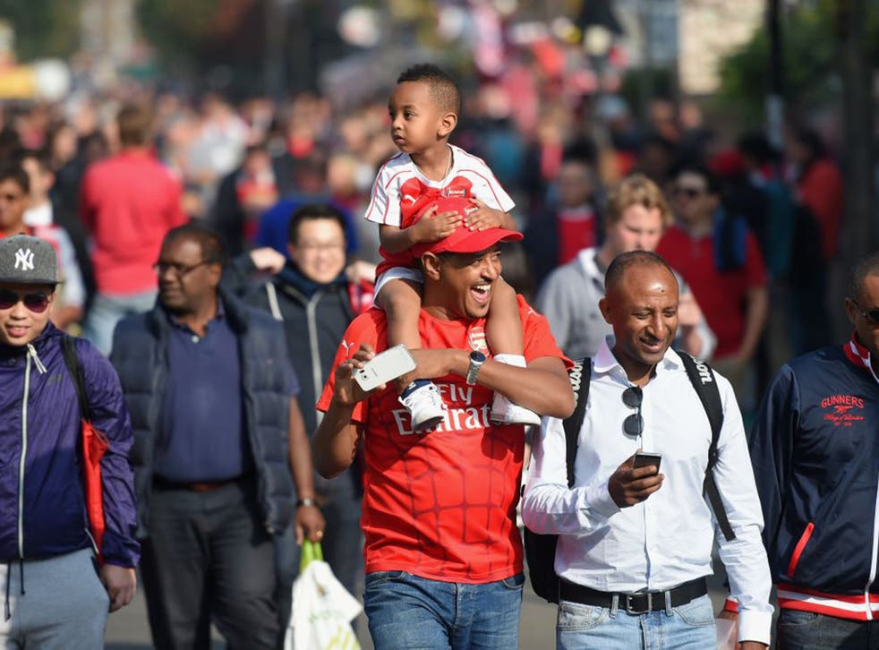 Arsenal's diverse fan base should be represented better