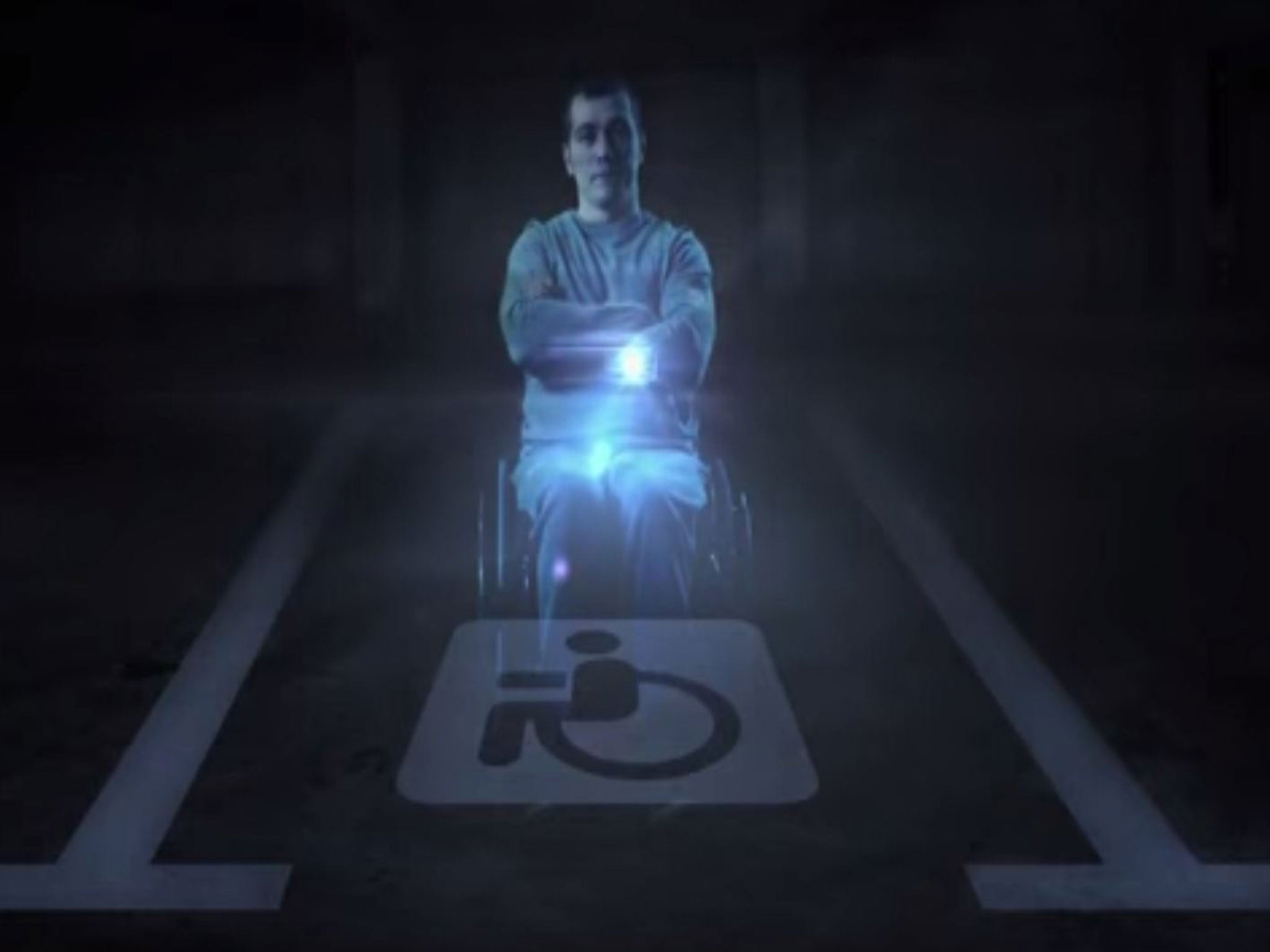 Russia Has Created A Disabled Hologram To Stop Illegal Parkers