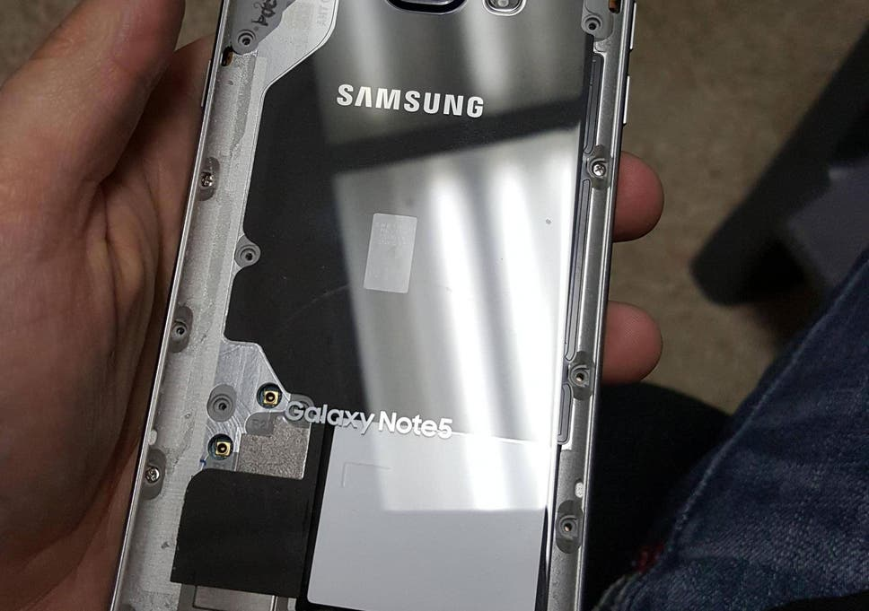 Samsung Galaxy Note 5 made transparent by Redditor   The