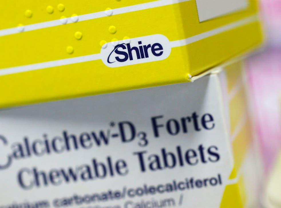 Shire's all-stock offer in August was worth $45 a share to Baxalta shareholders – about $12 higher than its share price at the time.
