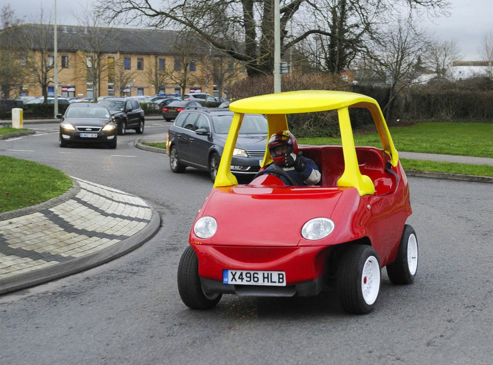 Image from a listing for the adult-sized Cozy Coupe