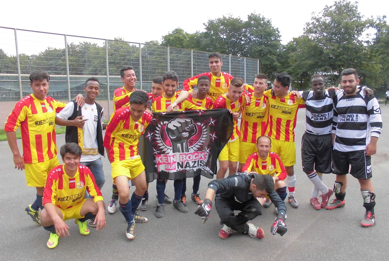 FC Lampedusa Hamburg, And The Inspirational Refugee Football Project  Cropping Up Around Europe   The Independent