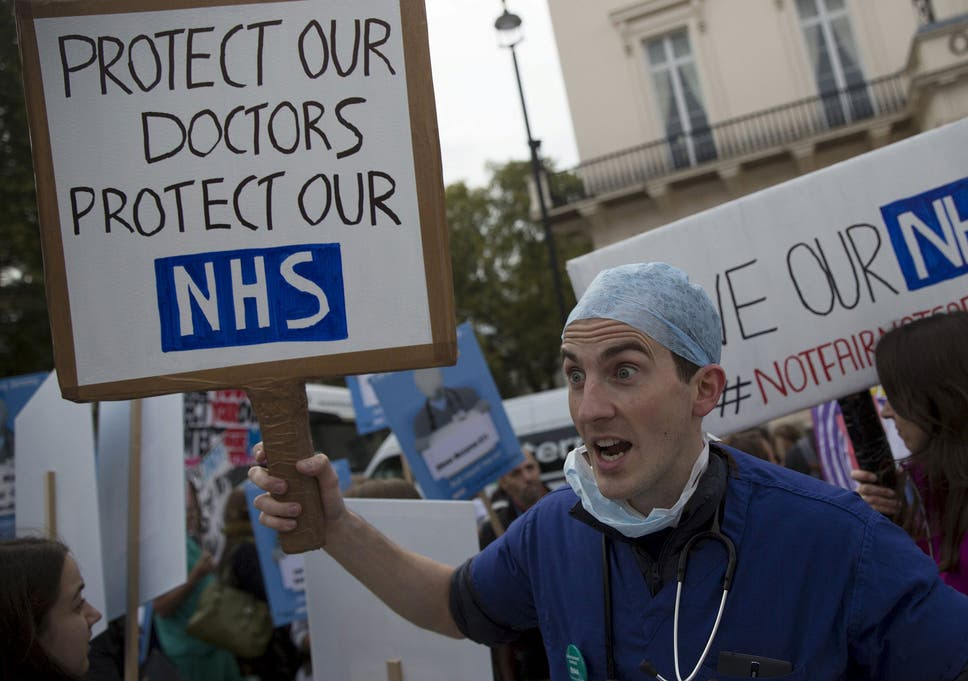 Junior doctors claim Jeremy Hunt's 11% pay rise will be a