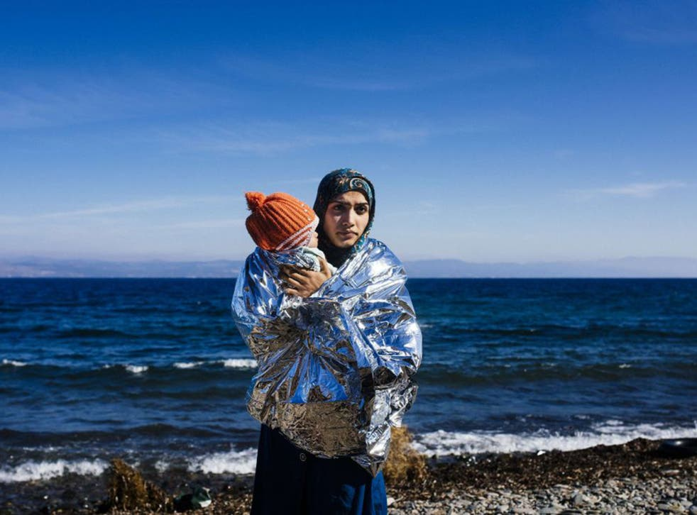 Safe at last, but more than 70 refugees died last month trying to cross the Aegean from Turkey to Greece