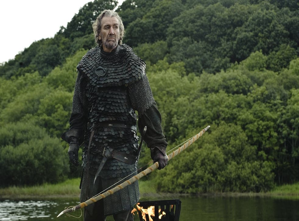 Brynden Tully played by Clive Russel in HBO's Game of Thrones