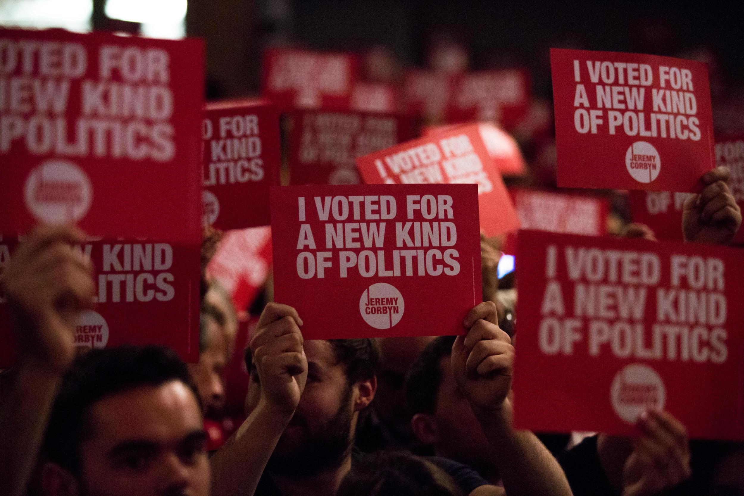 Jeremy Corbyn's Momentum activist network announces mass voter registration campaign
