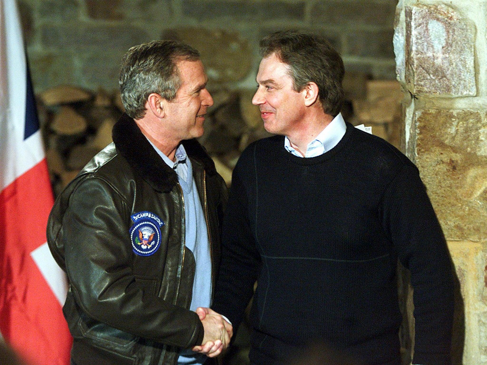 Bush–Blair 2003 Iraq memo