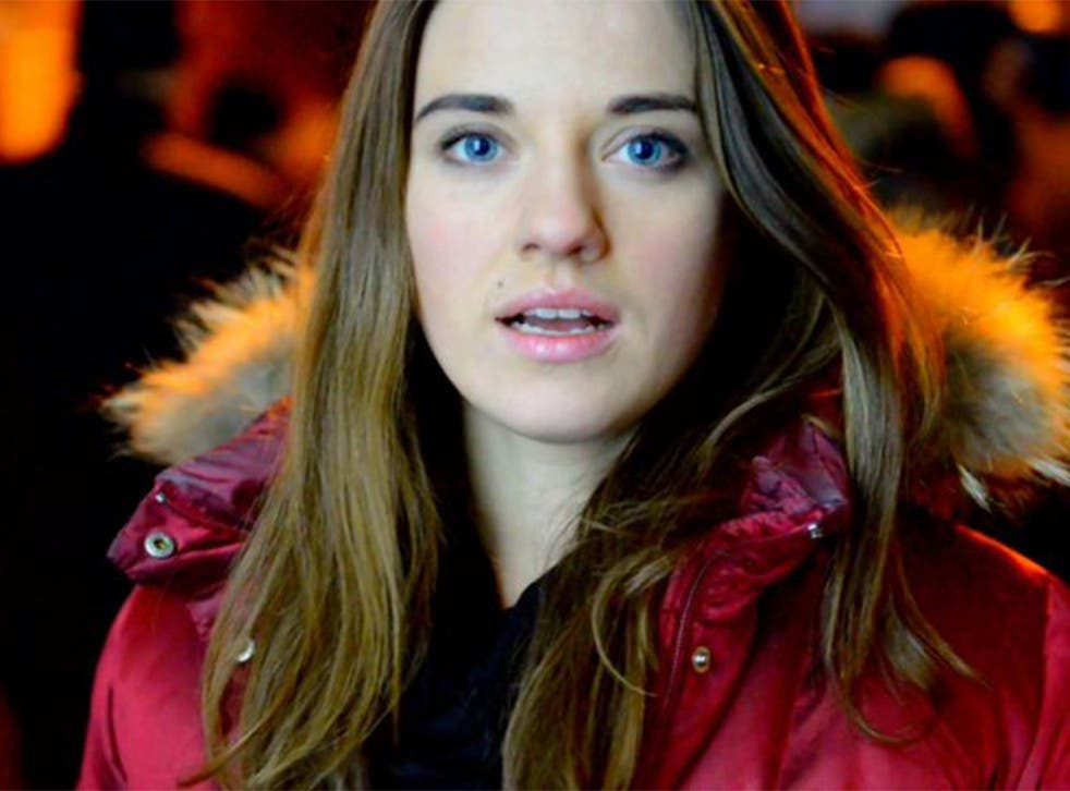 Yulia Marushevska appeared in a short video, entitled I Am a Ukrainian, which went viral after being posted in February 2014.