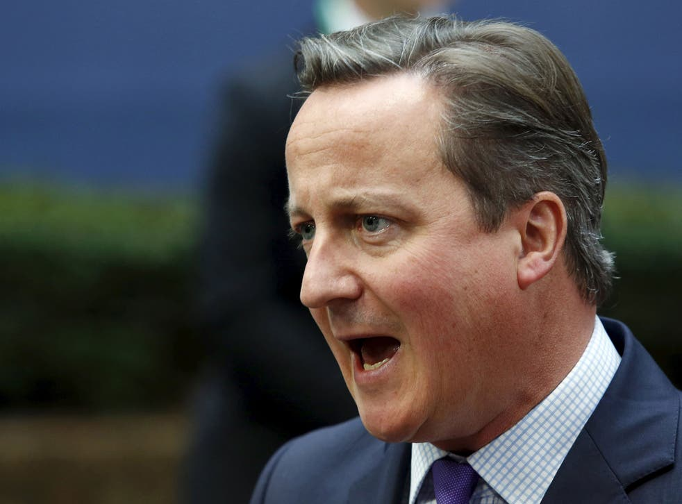 David Cameron has said it is 'illogical' to bomb Isis targets in Iraq but not over the border in Syria