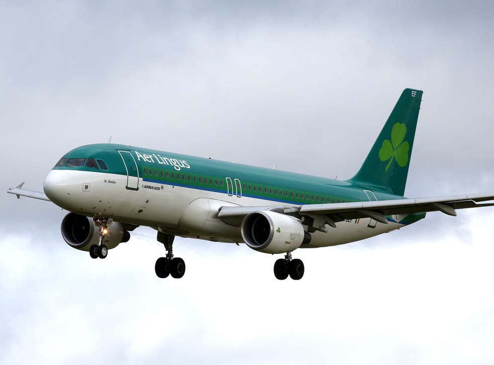 The man, believed to be Brazilian, collapsed on a flight from Lisbon to Dublin