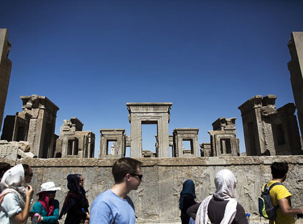 Iran boasts 19 UNESCO world heritage sites including the ruins of the Tachara Palace (pictured) which is part of Persepolis - the ancient capital built in 518BC