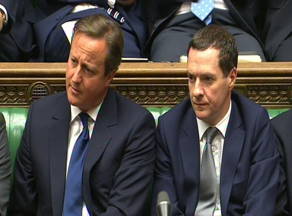 David Cameron and George Osborne have come under increasing pressure to soften the blow of their plans to cut tax credits