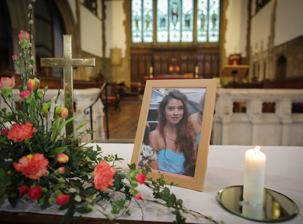 Becky, 16, was murdered by her stepbrother Nathan Matthews in the bedroom of her home