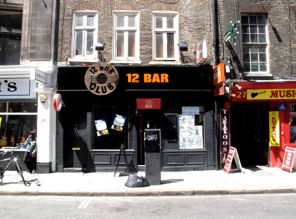 """The 12 Bar Club on London's """"Tin Pan Alley"""" was forced to relocate because of redevelopment"""