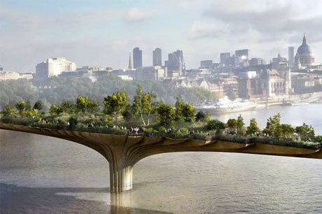 Thank goodness the garden bridge is metaphorically collapsing