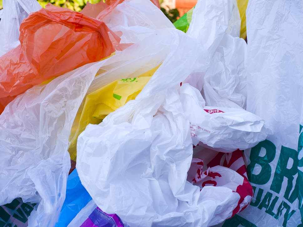The 5p levy in Scotland has prompted an 80 per cent reduction in plastic bag use since it was introduced last year