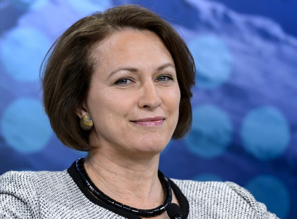 Inga Beale, CEO of Lloyd's of London topped a list of most inspiring LGBT business executives