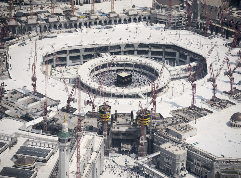The Grand Mosque in the holy city of Mecca