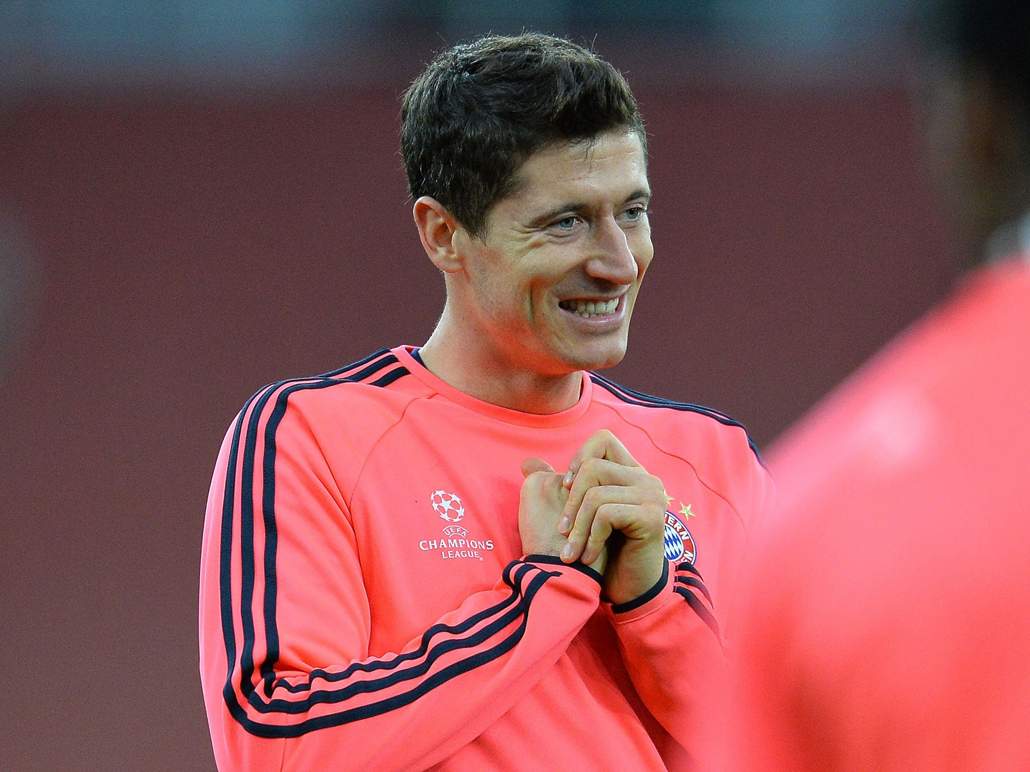 Robert Lewandowski Arsenal face the hottest striker in Europe