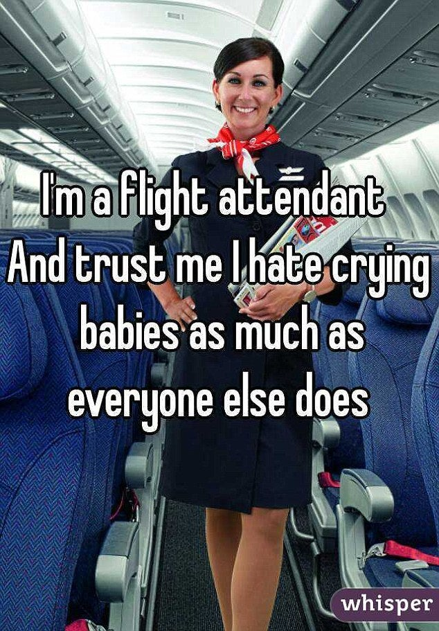 are flight attendants ever home