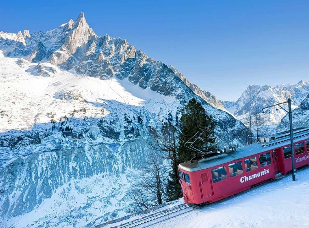 Chamonix offers skiers a free ride