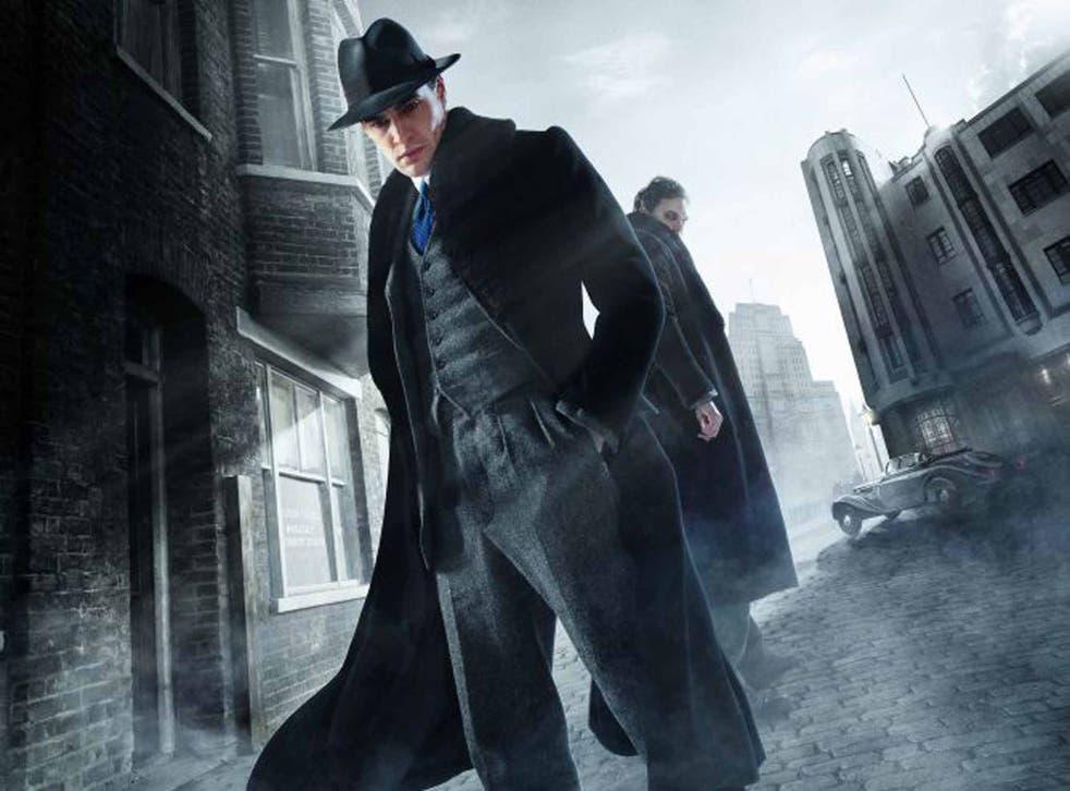 Inner monster: Tom Bateman as Robert Jekyll, grandson of Stevenson's Dr Jekyll, in the TV series 'Jekyll and Hyde' by Charlie Higson