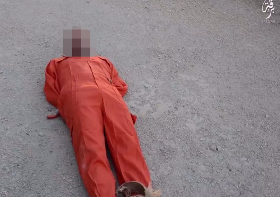 Isis video showing Libyan 'spy' dragged to death behind a speeding