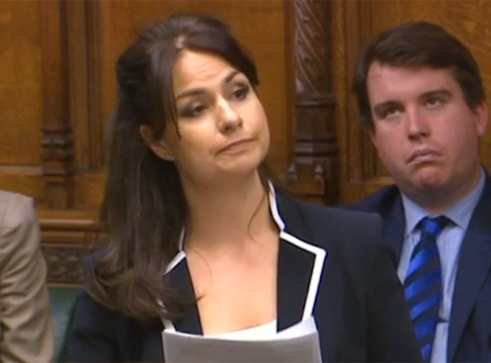 Heidi Allen used her first Commons speech to denounce George Osborne's plans