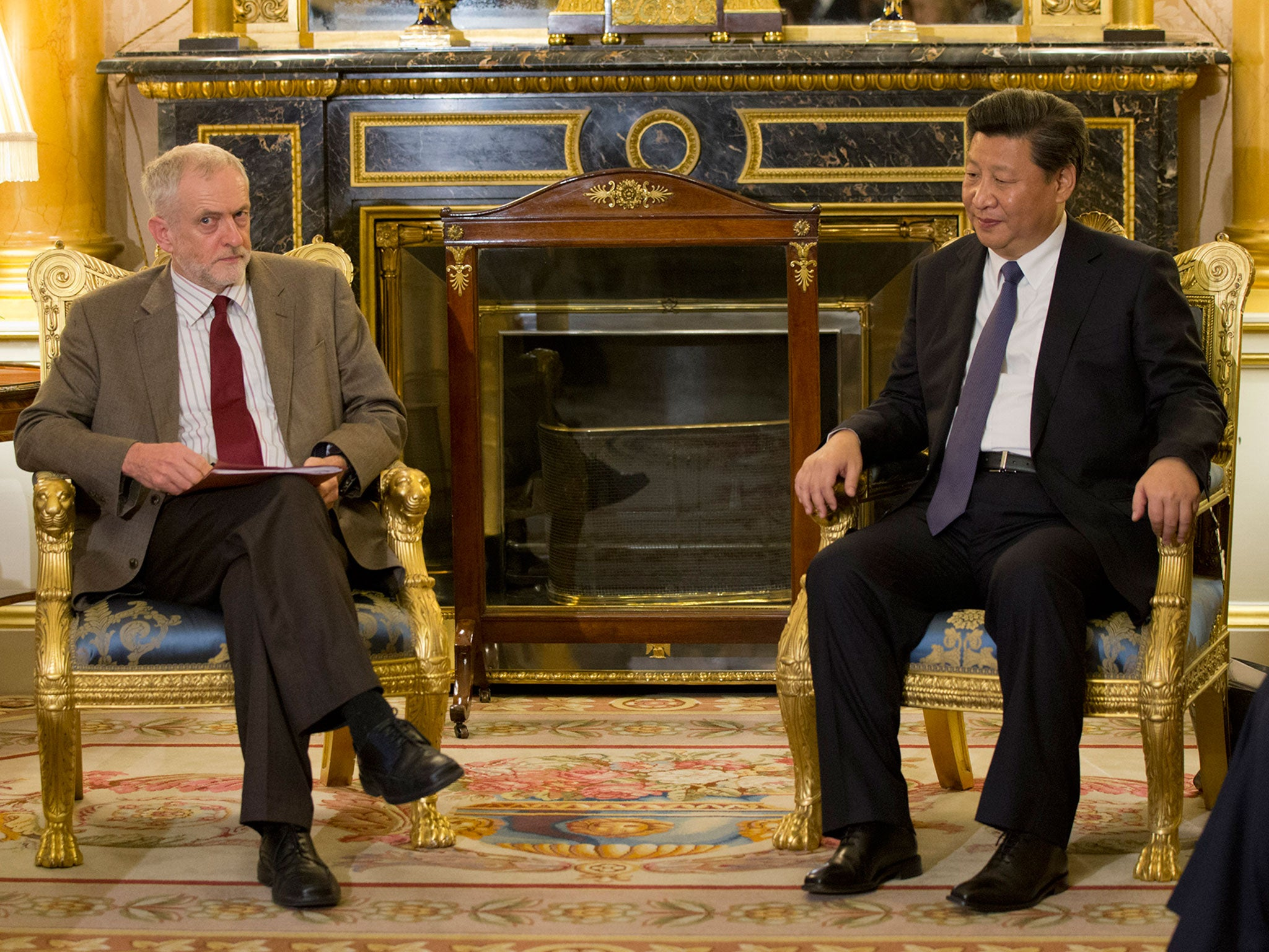 Jeremy corbyn raises human rights record with chinese president xi jinping the independent