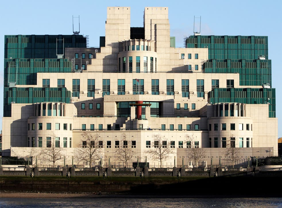 The MI6 building in Vauxhall - it cost £135m to build and opened in 1994