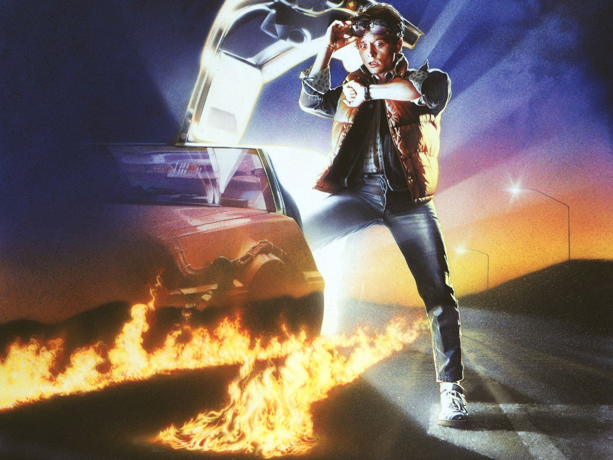 Back to the Future II: Today is the day that Marty McFly and Doc Brown travelled to 21 October 2015
