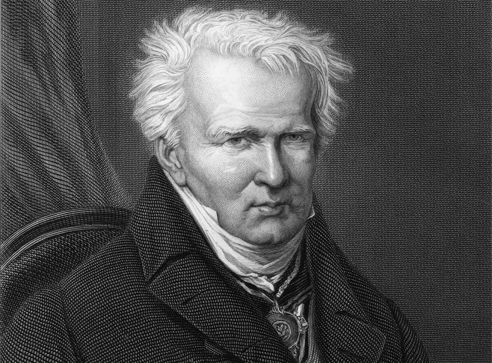 A man ahead of his time: Alexander von Humboldt