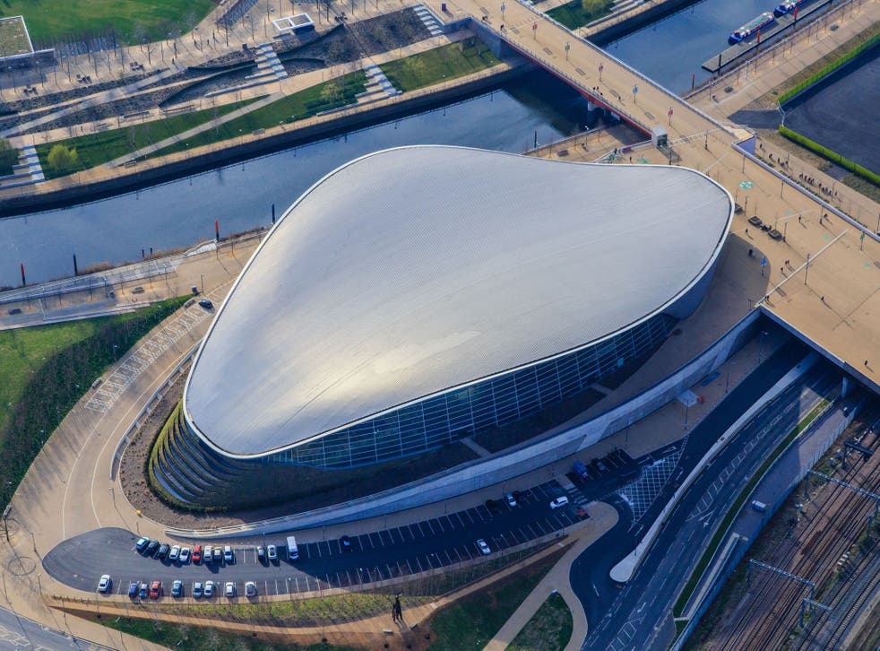 Riverside Museum, Glasgow; Guangzhou Opera House; BMW Central Building, Leipzig; London Aquatic Centre (pictured). What's the link?