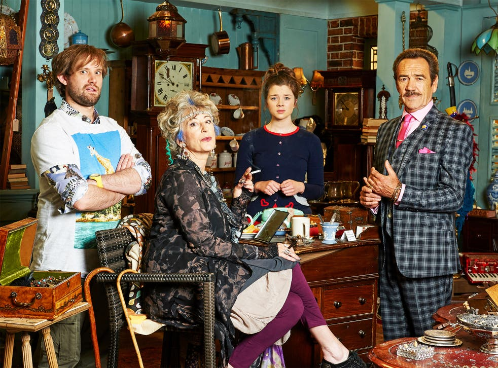 Surreal: Naz Osmanoglu, Maureen Lipman, Claudia Jessie and Robert Lindsay in 'Bull'