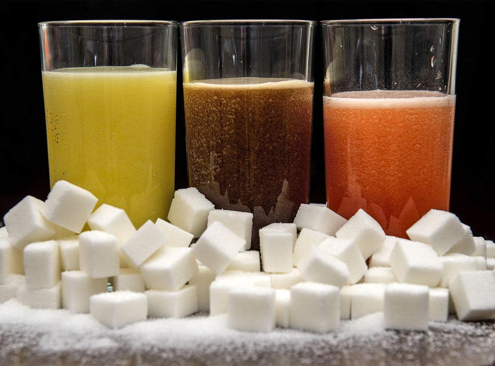The NHS says added sugars should not take up more than 5 per cent of the calories you eat every day, which for most people means about 30g