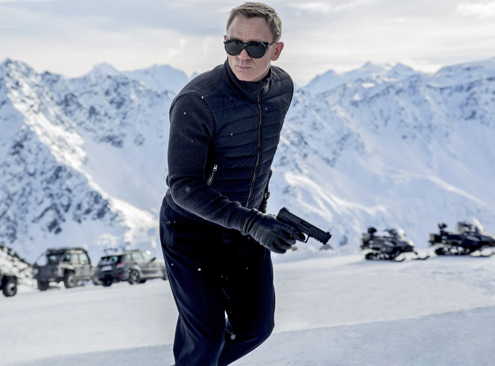 Cool under pressure: Daniel Craig as James Bond in 'Spectre'