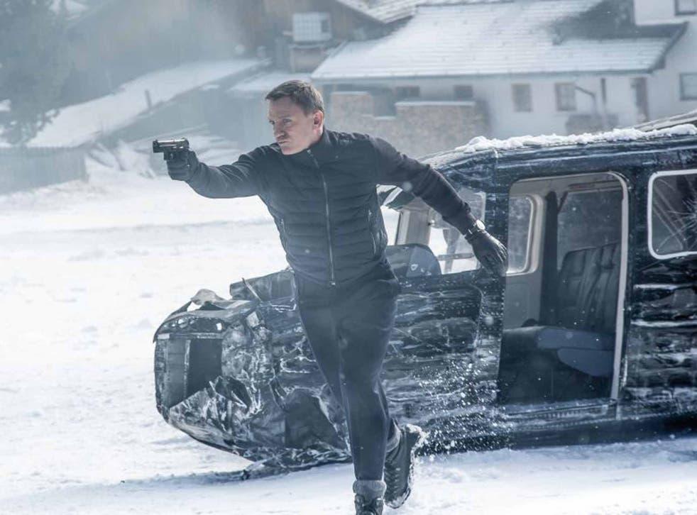 Deadly Daniel Craig in 'Spectre'
