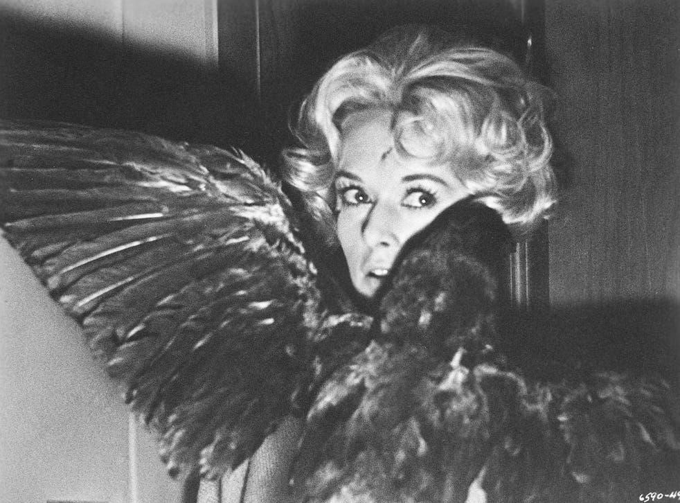 Avian attack: Tippi Hedren in Hitchcock's screen version of Daphne du Maurier's The Birds