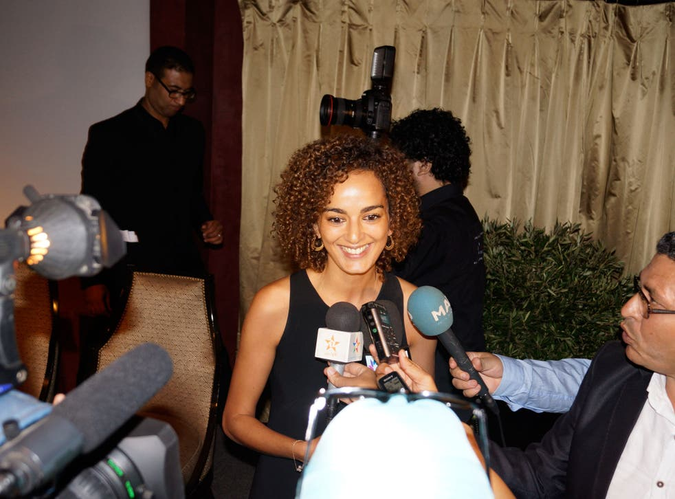 Breakthrough: Leïla Slimani, whose erotic novel may be the first by a woman to win a prize in a Muslim country