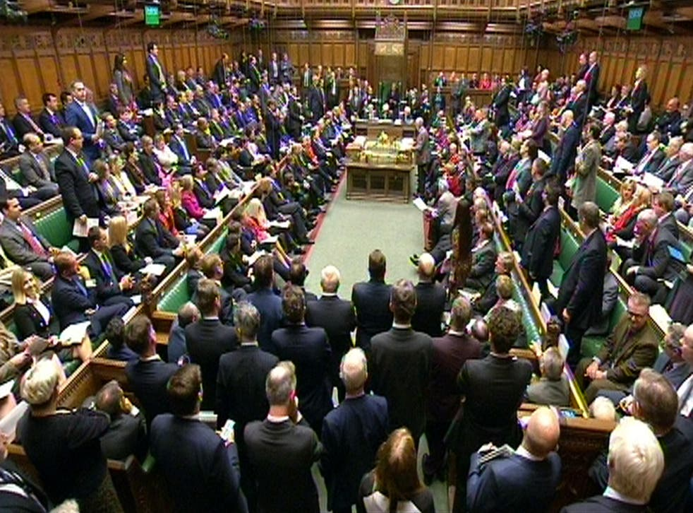 MPs voted through plans for Evel by 312 votes to 270