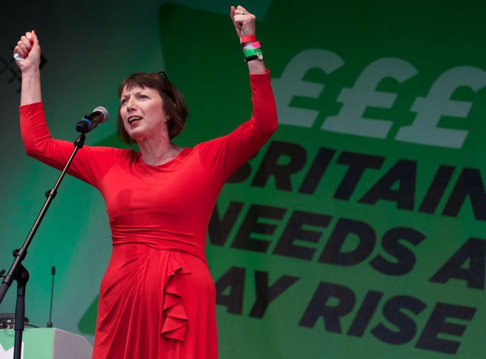 Frances O'Grady, general secretary of the TUC, has warned that workers' rights are at stake in the EU referendum