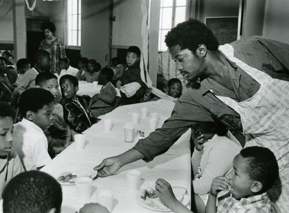 Food for thought: Charles Bursey at a Free Breakfast Program in 'The Black Panthers: Vanguard of the Revolution'
