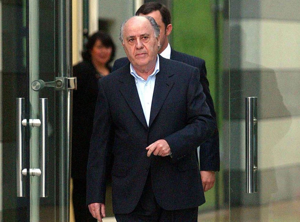 Amancio Ortega is now the richest man in the world, according to Forbes