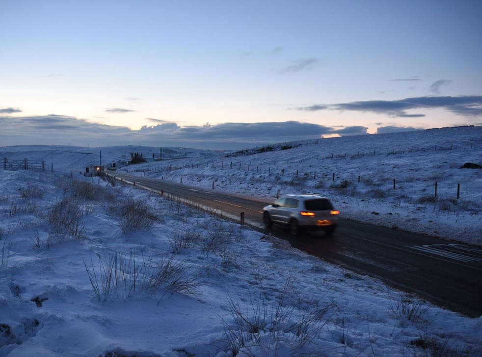 Snow patrol: Halfords is offering free checks to protect cars against the ravages of the British winter