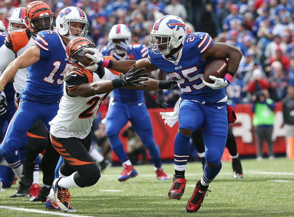 The Jaguard will have to pay attention to Bills running back LeSean McCoy