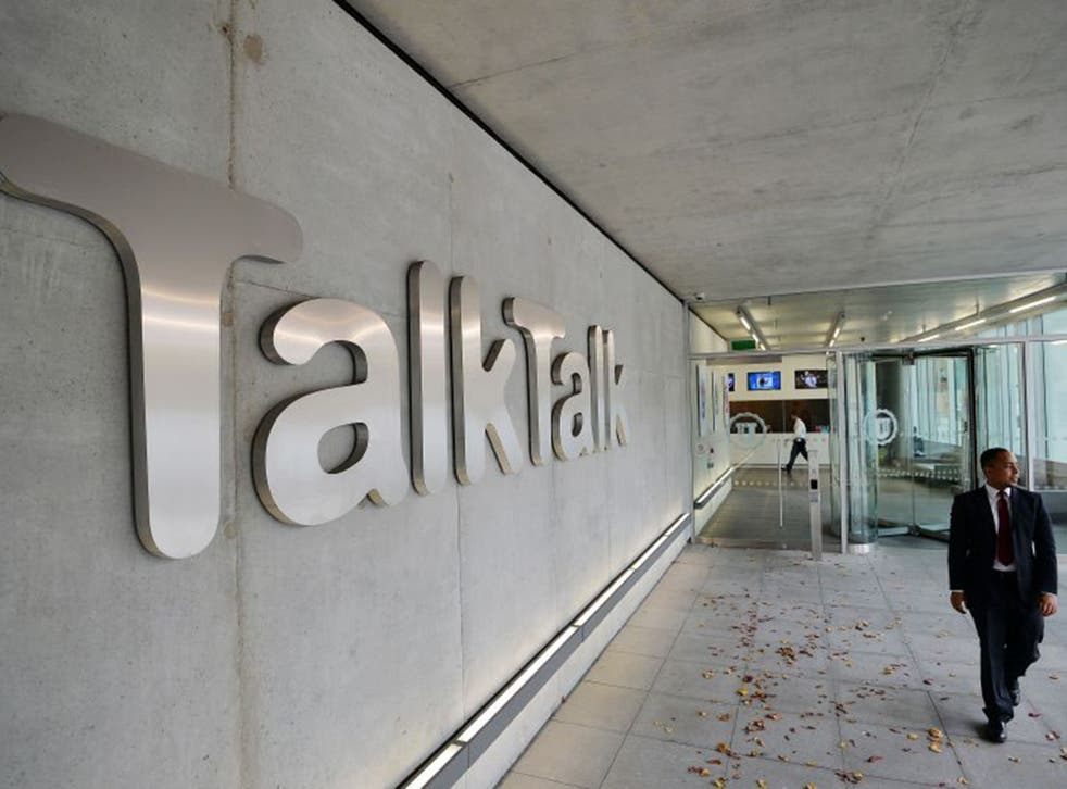 Talktalk have said the cyber attack would not allow criminals to plunder customers' bank accounts
