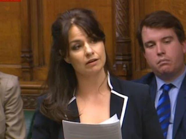 Ms Allen criticised the cuts in her maiden speech in Parliament